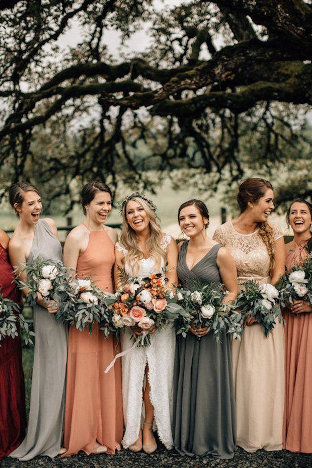 Autumn Wedding Bridesmaid Dresses