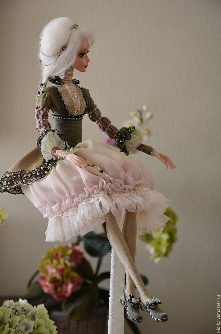Кукла Даша интерьерная кукла, Будуарная кукла, авторская кукла , artdoll by Ilona Loik