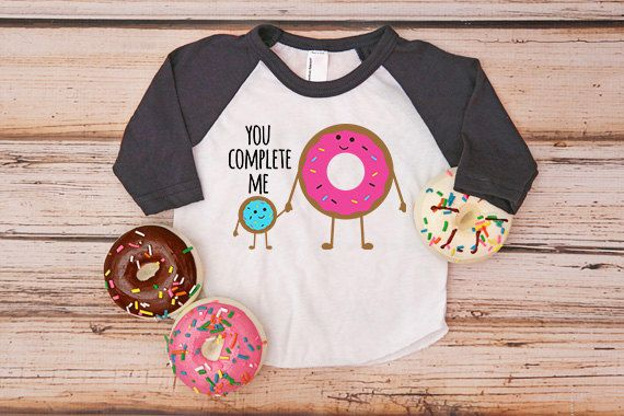 You Complete Me Donut Shirt you complete me shirt by beachtownbaby