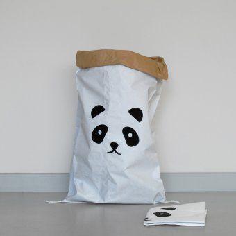 Aufbewahrung Paper Bag Panda Charity Edition