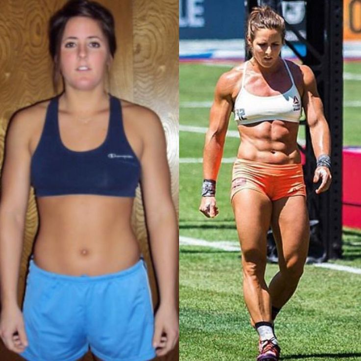 """Stacie Tovar """"was the life of the party back then at age 23 and to this day still have zero regrets about the fun I had. Even now I'll still cut loose, in moderation, and rarely of course! Just crazy to think I actually thought I was fit back then. Haha was I fooled! At age 31 here I am on the right, the fittest I've ever been!"""""""