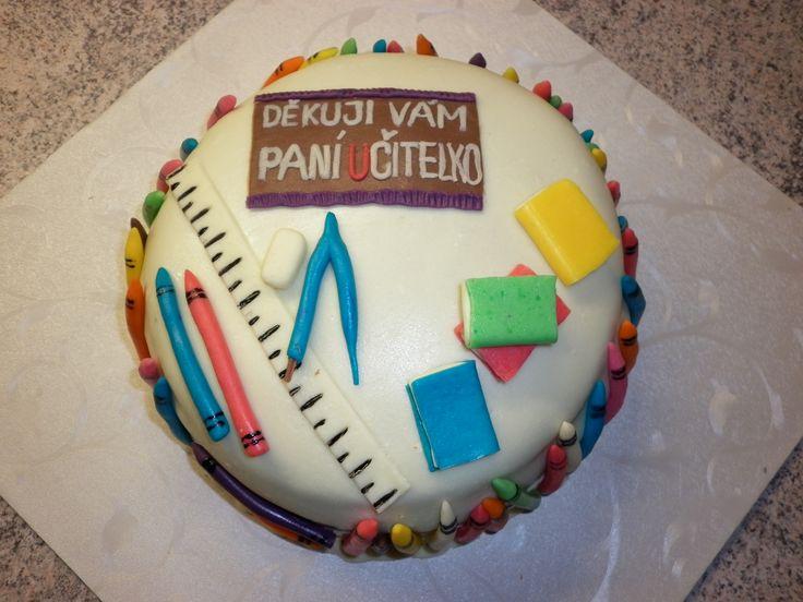 školní dort