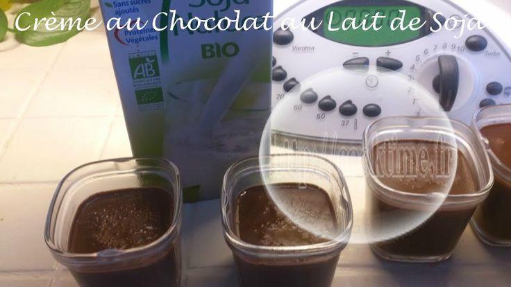 Crème au chocolat au lait de soja au Thermomix