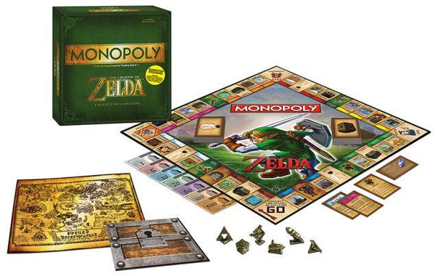 『ゼルダの伝説』版モノポリー -モノポリーの種類