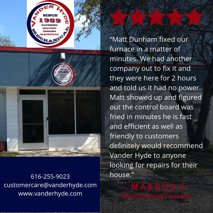 Thank you Marcus F. for your review! testimonialtuesday