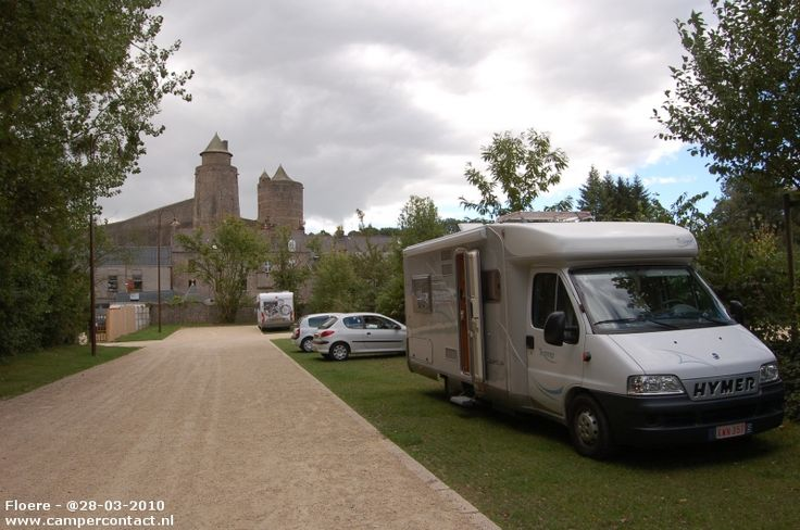 Camperplaats Fougeres - Aire de la Carriere - Frankrijk