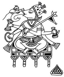 Indian Folk Designs: ~ Folk Designs from Maharashtra ~