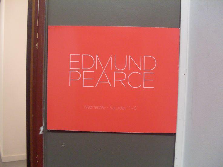 Entrance to Edmund Pearce Artspace