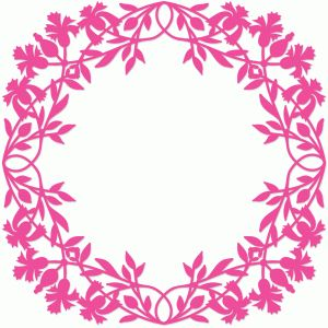 View Design #73113: vintage floral frame