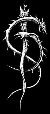 Skinny Puppy. Had this design on a t-shirt and wore it almost everyday.