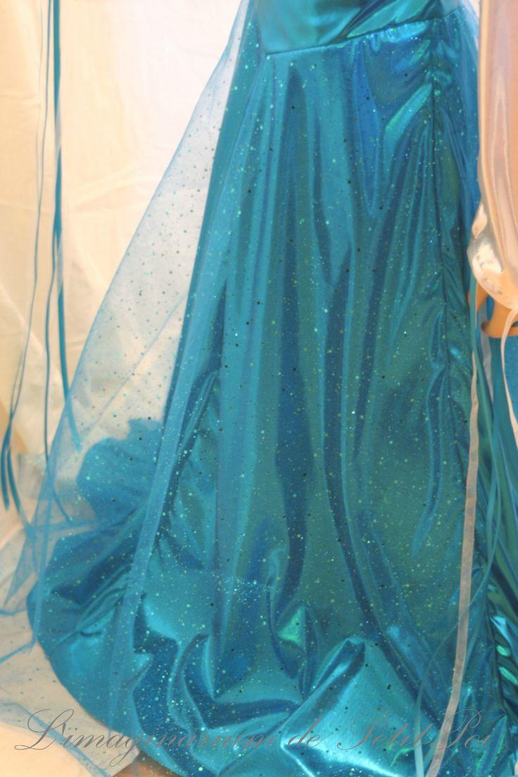 Robe Reine des Glaçons - L'imaginarium de PetitPoi