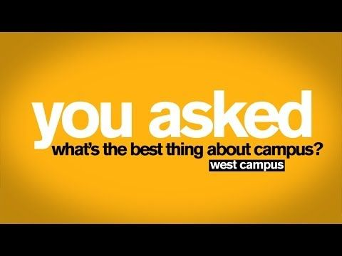 You Asked - Best Thing About West Campus at Arizona State University - YouTube