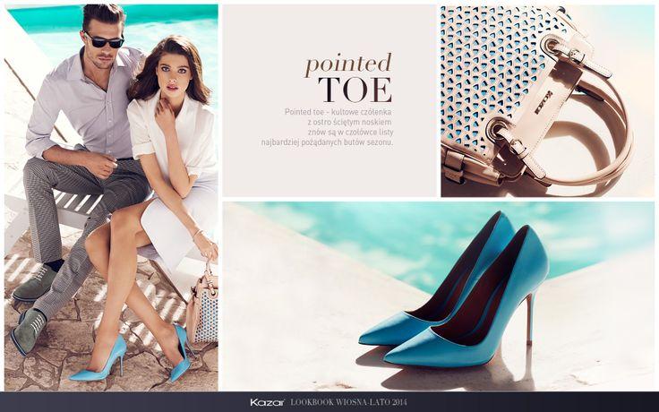 #Kazar  #trendy #new #look #summer #sprig #wiosna #lato #moda #fashion #styl #buty #shoes #szpilki #torba #bag #pointedtoe #toe #pointed #blue