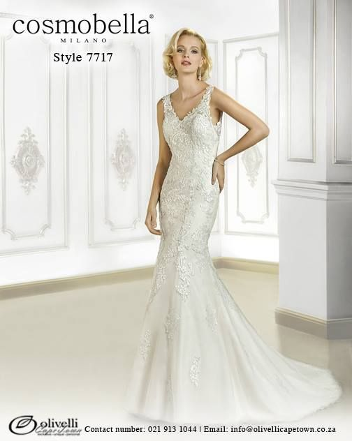 Cosmobella Gown style 7691. Call us on 021 913 1044 for more info. #WeddingGown #OlivelliCT #Cosmobella