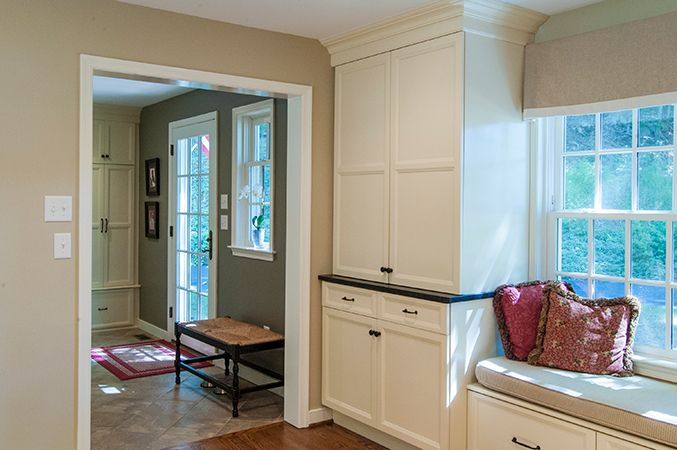 18 best images about breezeway on pinterest for Mudroom addition plans