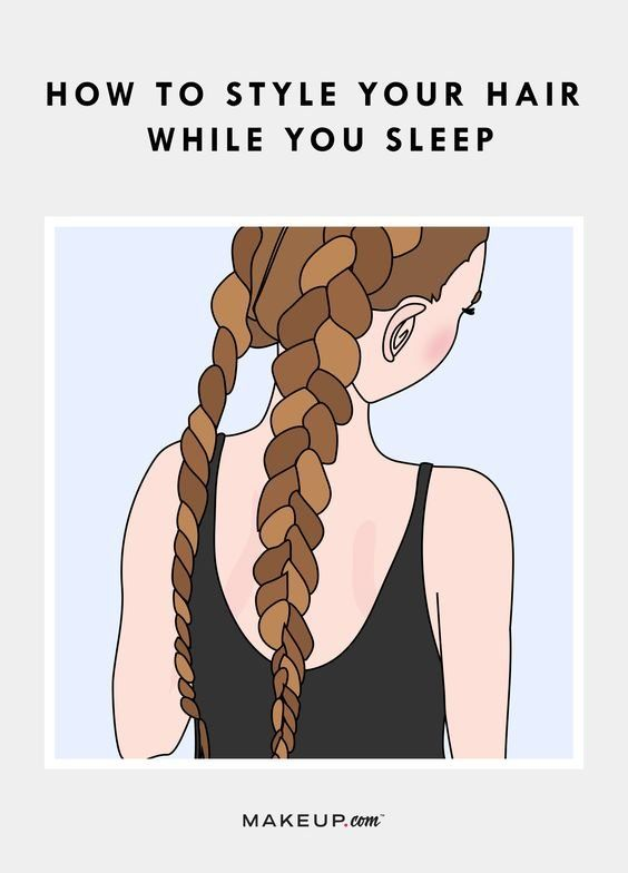5 Overnight Hairstyle Hacks to Save Time in the Morning. #partner