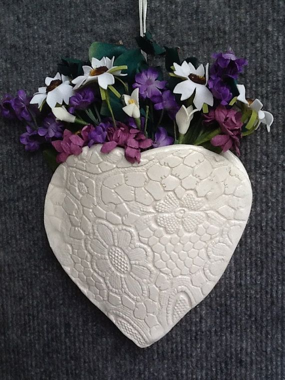 56 Best Clay Wall Pockets Images On Pinterest Wall Vases Wall Pockets And Ceramic Art