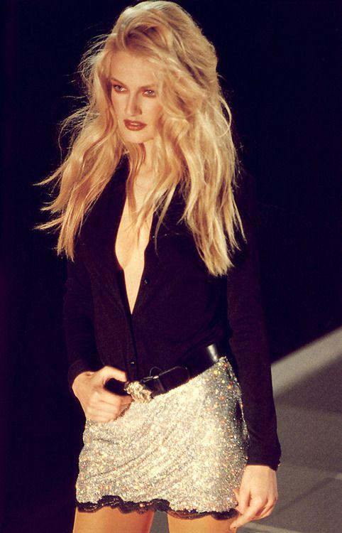 Karen Mulder for Versace (90s). | Supermodels | Pinterest ...