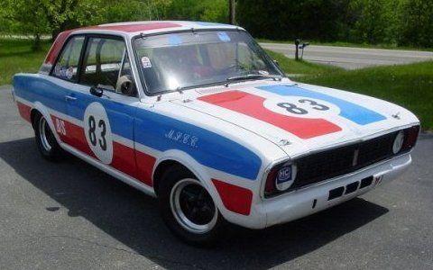 Turn-Key B-Sedan Racer: 1968 Ford Cortina