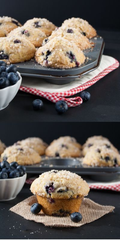 BEST BLUEBERRY MUFFINS. A buttery and moist blueberry muffin that is just as gorgeous and delicious as the ones you find at the gourmet bakery shops.