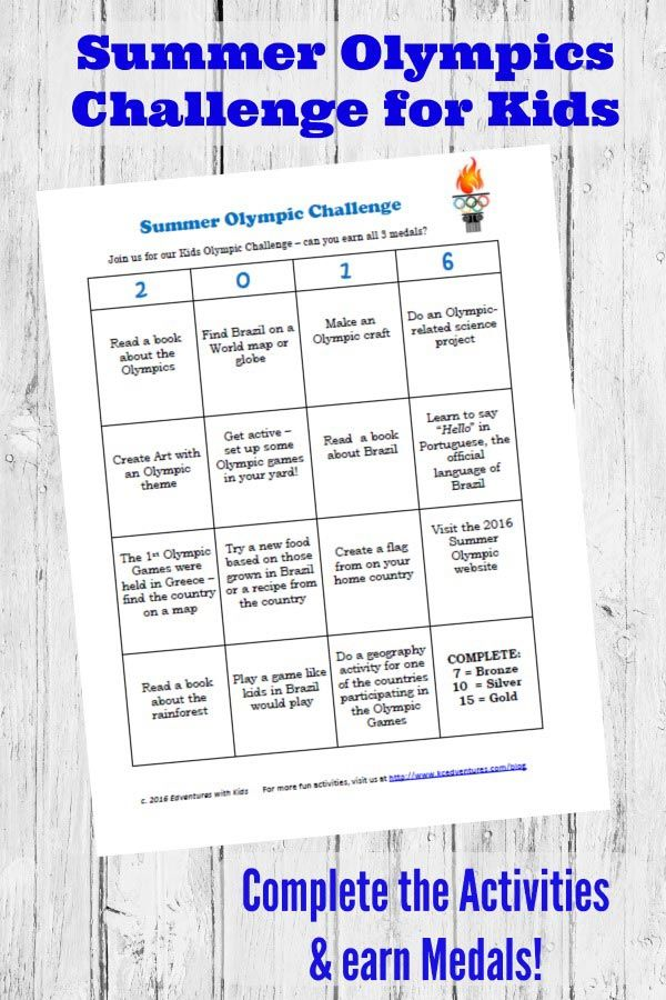 25+ best ideas about Olympic games for kids on Pinterest | Olympic ...