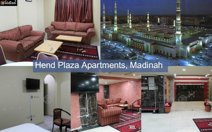 Great discounts on #hotelsinMadinahnearHaram , Book a Hotel at Hend Plaza Apartments, Madinah and Save time and money #HotelBooking #Travel #Hospitality