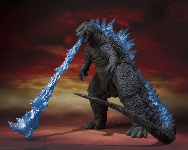 This Godzilla Toy's Fire Breath Is So Badass, It Needs Its Own Stand