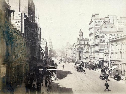 Collins St East, Melbourne
