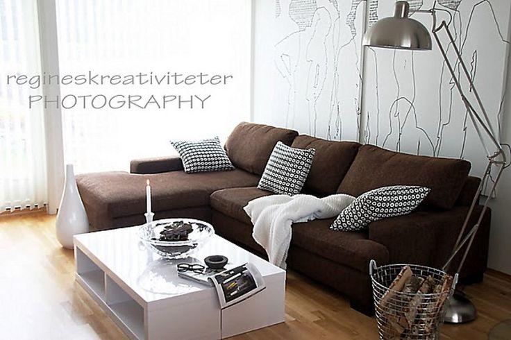 Estilo nórdico y sofá marrón????   Decorar tu casa es facilisimo.com