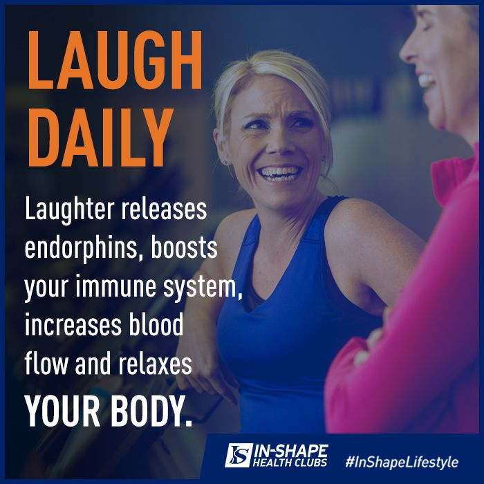 Motivational Health and Wellness Tip: Laugh Daily