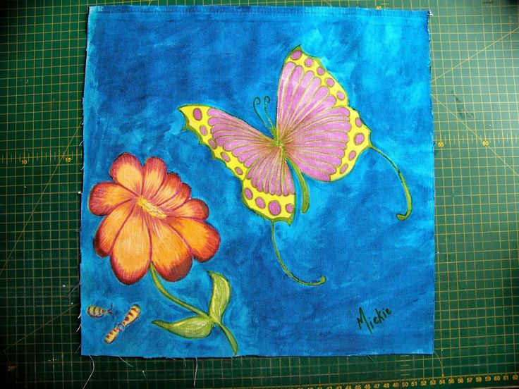 A Pretty Talent Blog: Acrilpen on Fabric