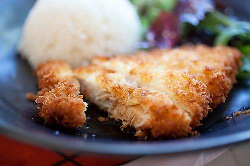 Chicken Katsu (Fried Chicken Cutlet)