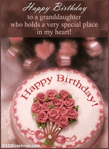 birthday quotes for granddaughters | Granddaughter's Birthday! Free Extended Family eCards, Greeting Cards ...