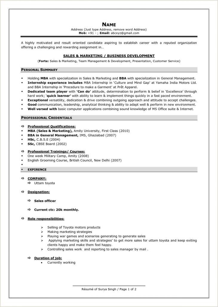 Bba Fresher Resume Format Doc Resume Examples 2020 Resume Format 2020 Executive Assista In 2021 Professional Resume Samples Best Resume Format Resume Format Download