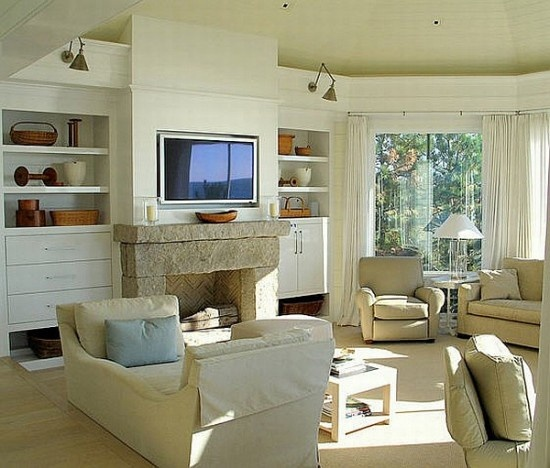 27 best l shaped living room images on pinterest living for L shaped living room with fireplace