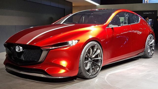 2020 Mazda 3 First Interior Spy Photos New Car Announcements