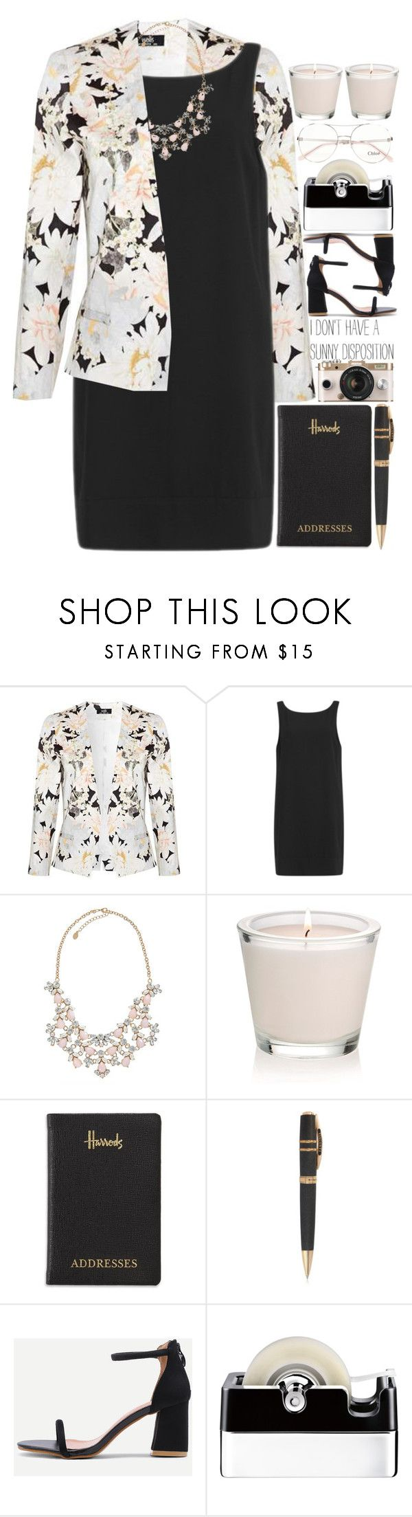 """5600"" by tiffanyelinor ❤ liked on Polyvore featuring Samsøe & Samsøe, Harrods, Visconti, Georg Jensen and Chloé"
