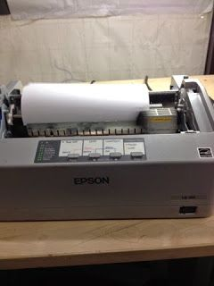 Worldwide Electronic-Hardware Solution: How to repair carriage printhead on Epson LQ-310