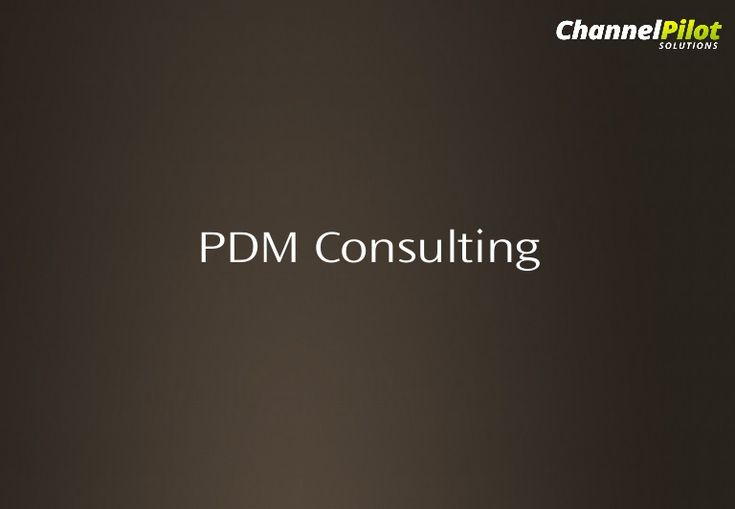 pdm-consulting by PDM Consulting via Slideshare
