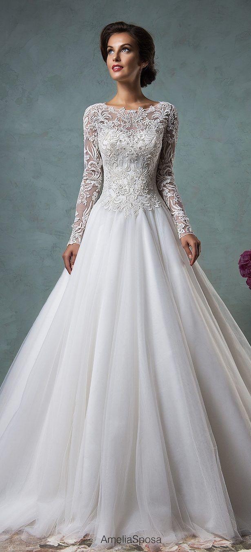Belles wedding dress  Amelia Sposa   wedding flowers  Pinterest  Amelia sposa