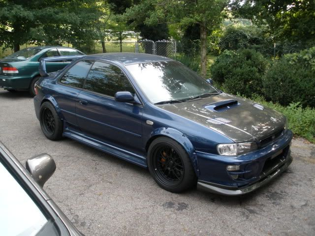 Subaru Impreza GC8 -- if I'm ever lucky enough to own one someday, I want it to pretty much look exactly like this. :)