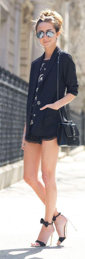 Karen Kane Blazer Outfit Idea Fashionistas