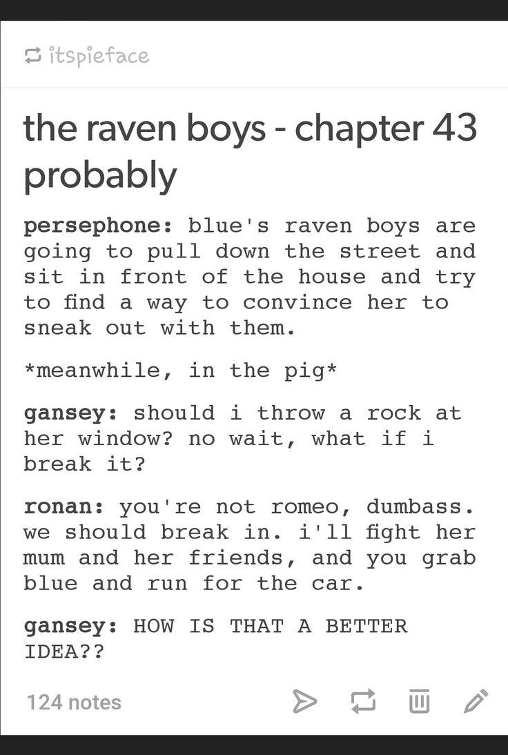 The Raven Boys | The Raven Cycle | Raven king, Blue raven ...