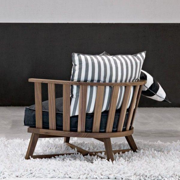 Holzsessel-Gustavien Stil-modern interpretiert