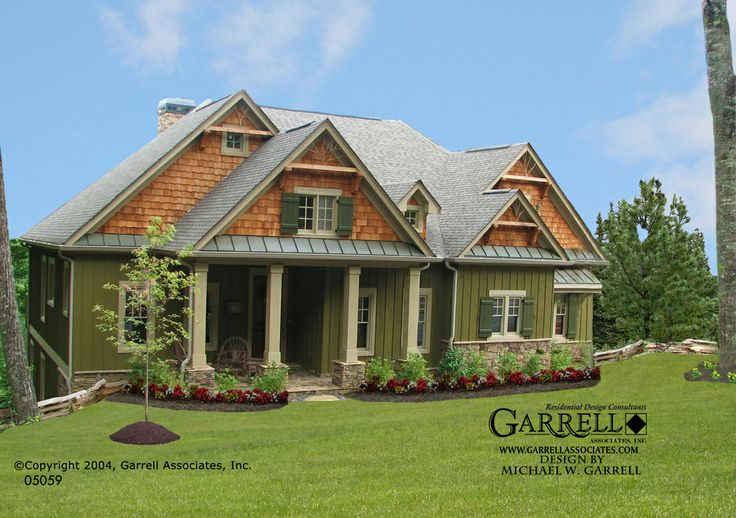 Garrell Associates Inc Cashiers Cabin House Plan 01470