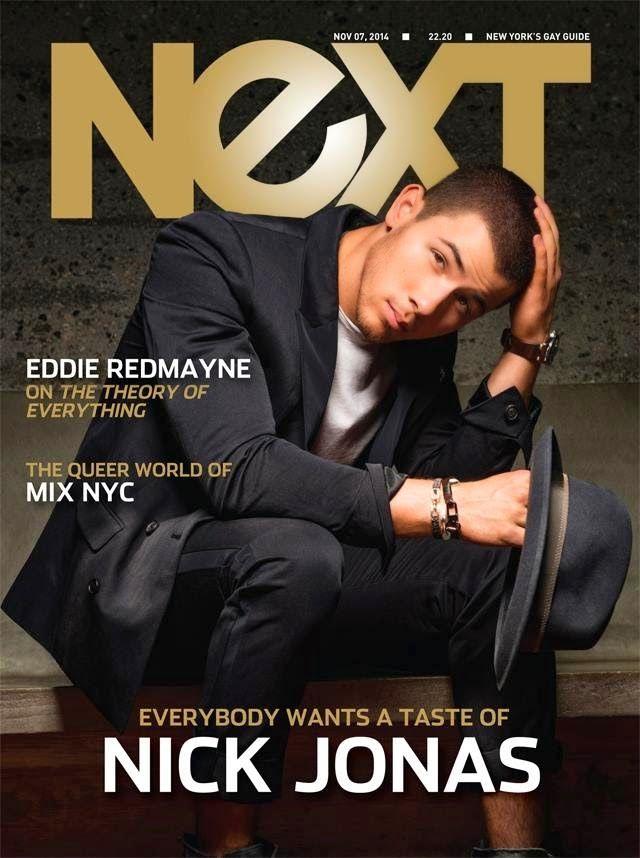 Nick Jonas Covers NEXT November 2014 Issue image Nick Jonas Next Cover  JONAS IS GAY!!!!!!