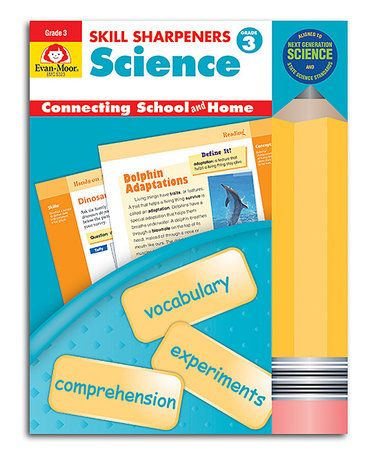 Look what I found on #zulily! Grade 3 Skill Sharpeners Science Workbook by Evan-Moor Educational Publishers #zulilyfinds