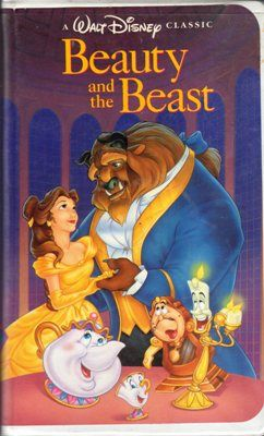 Beauty and the Beast 1558903259 VHS Tape Belle Rose Video