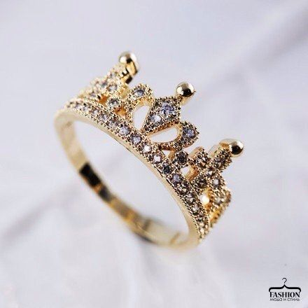 #Ring crown #gold #kings ...PUSH and choose