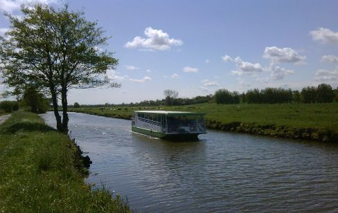 River Trips on the River Taute - Historic Carentan and Omaha Beaches Normandy region - La Varde and La Taute River France search